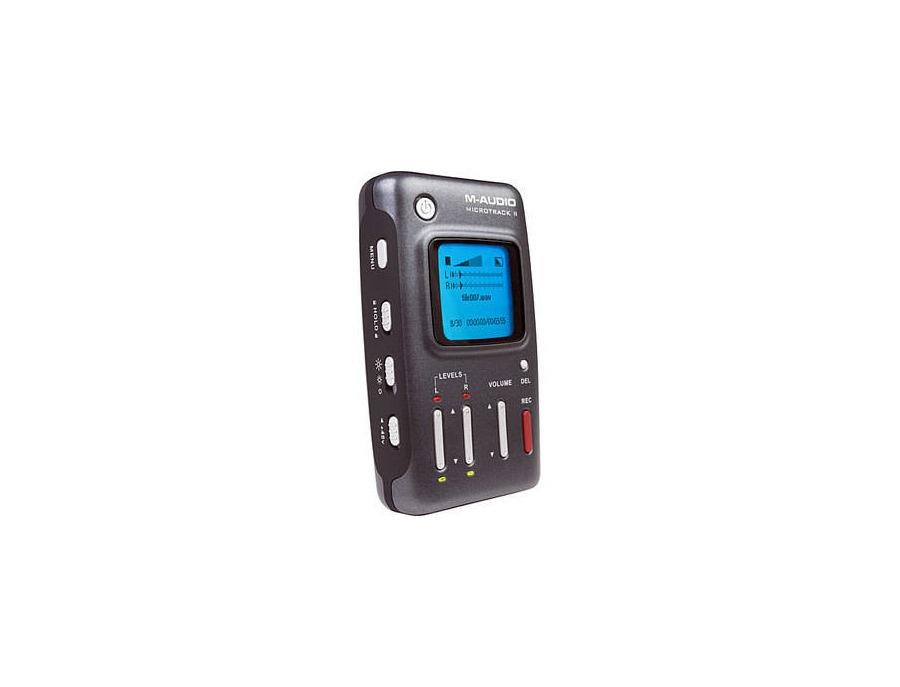 M-Audio MicroTrack II Audio Recorder