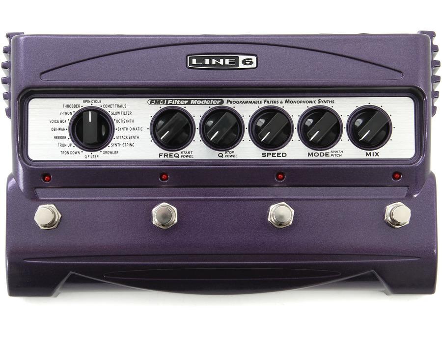 Line 6 FM4 Filter Modeler Guitar Effects Pedal
