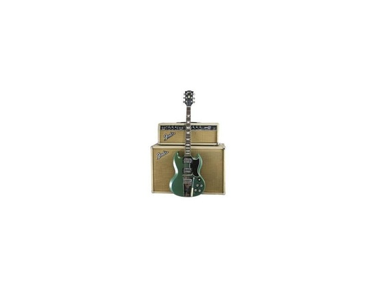 Gibson SG Aged Pelham Blue w/Meastro Trem