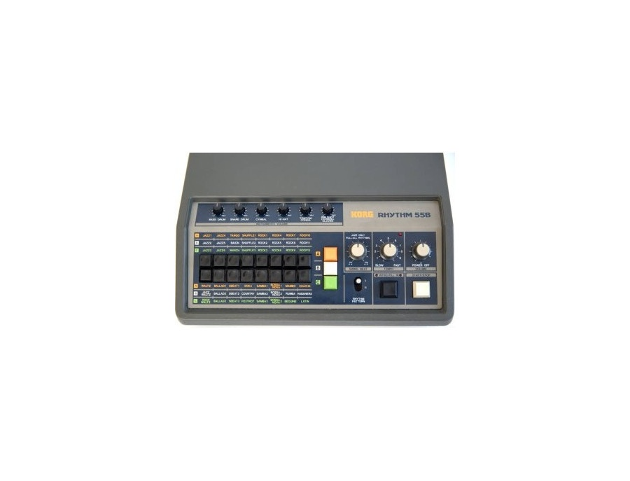 korg rhythm 55 kr 55b drum machine reviews prices equipboard. Black Bedroom Furniture Sets. Home Design Ideas