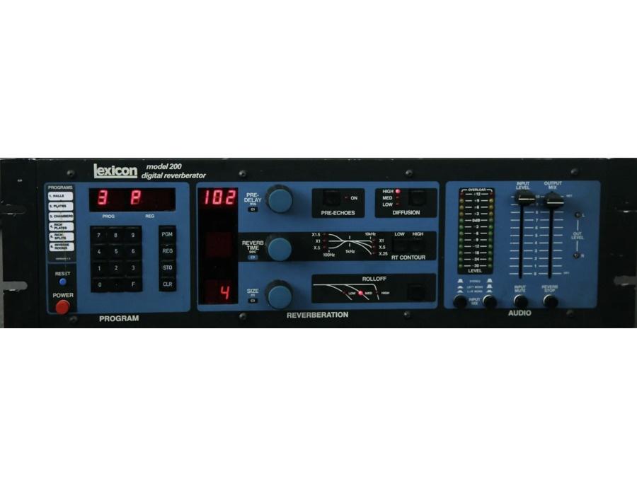 Lexicon Model 200 Digital Reverberator