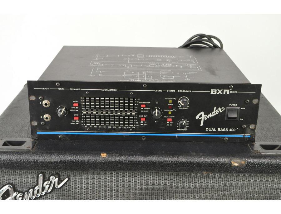 Fender bxr dual bass 400 xl