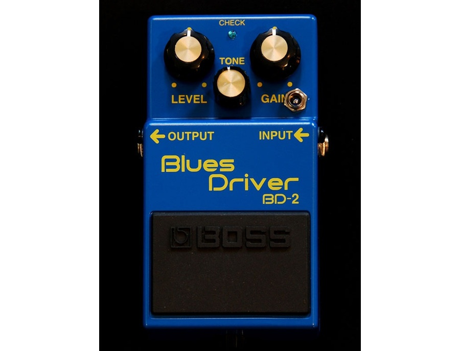 Boss BD-2 Blues Driver Pedal with Keeley mod