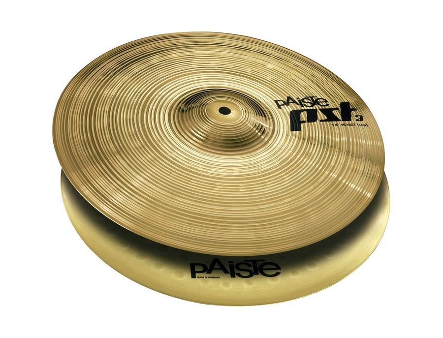 """Paiste Pst3 13"""" Hi-Hat Cymbals"""