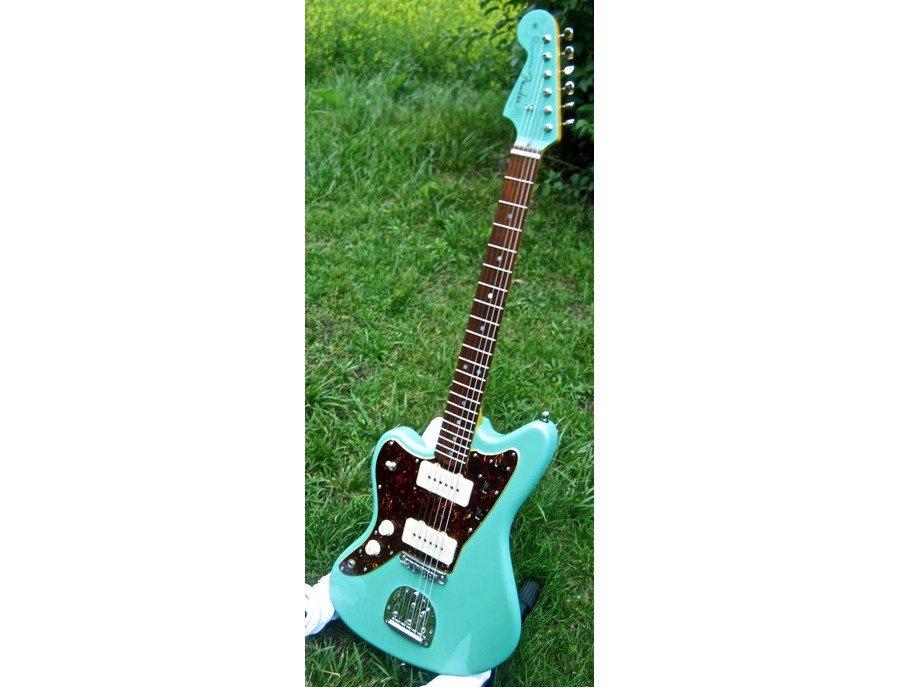 Fender USA left handed Jazzmaster (seafoam green)