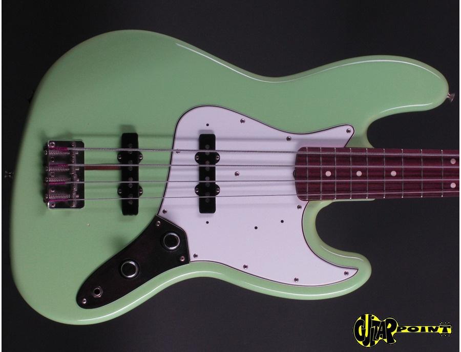 Fender American Vintage Series J-Bass Seafom Green