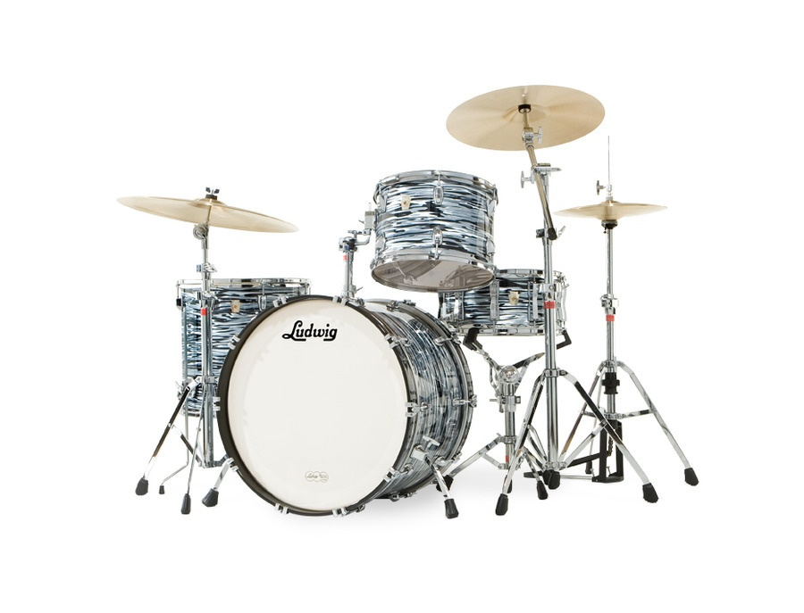 Ludwig black oyster pearl kit xl