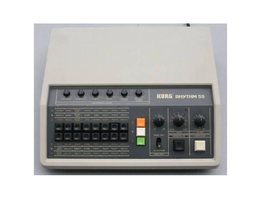Korg Rhythm 55 KR-55 Drum Machine