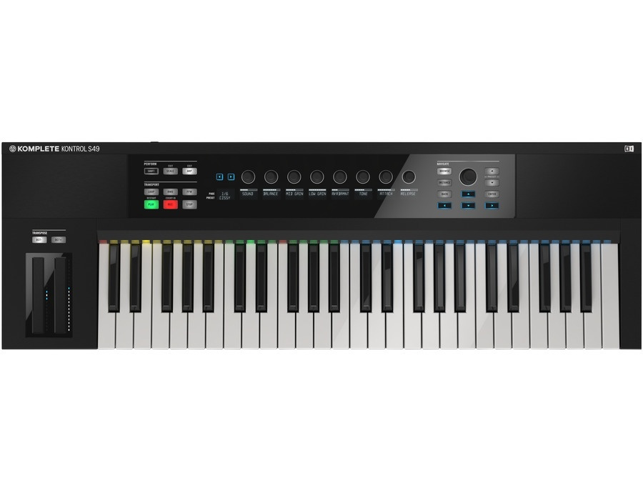 Native instruments komplete kontrol s49 keyboard controller xl