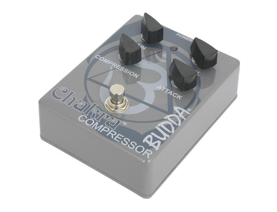 Budda Chakra Compressor Guitar Pedal