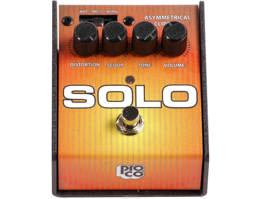 Pro Co SOLO Analog Distortion and Overdrive Effects Pedal
