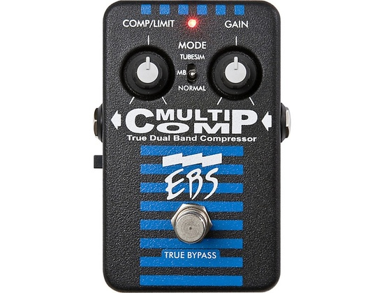 EBS MultiComp True Dual Band Compressor Pedal