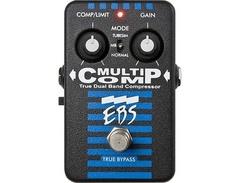 Ebs multicomp true dual band compressor pedal s