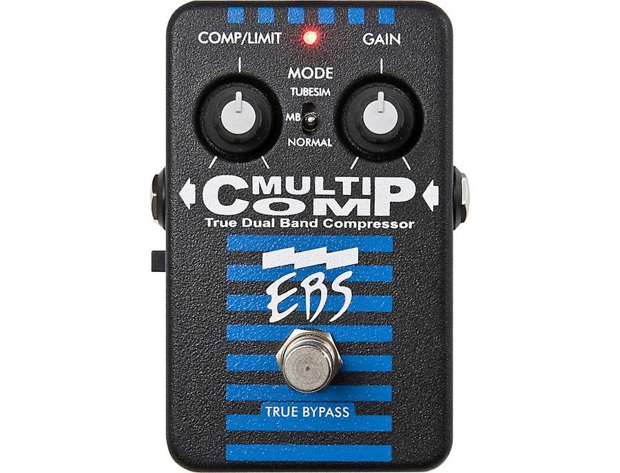 Ebs multicomp true dual band compressor pedal xl