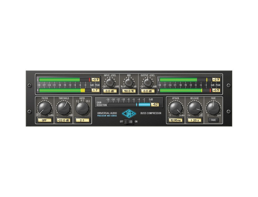 Universal Audio Precision Buss Compressor Plug-In