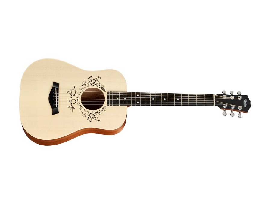 Taylor taylor swift signature acoustic guitar natural 3 4 size dreadnought xl