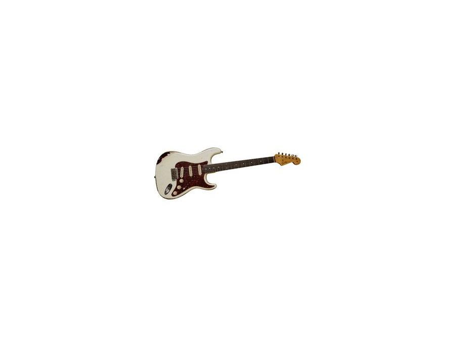 Fender American Stratocaster Artic White & Relic