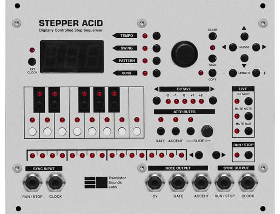 Transistor Sounds Lab Stepper Acid
