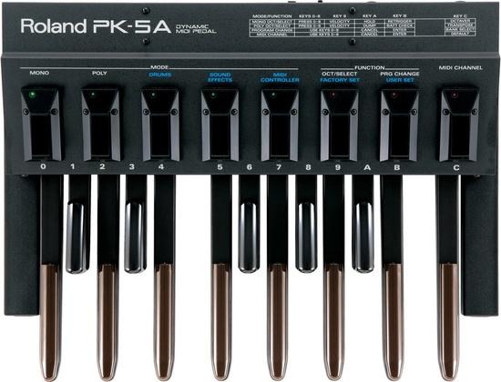 Roland PK-5A Dynamic MIDI Pedal