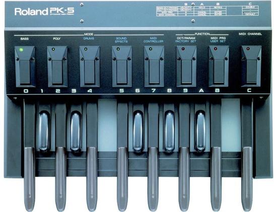 Roland PK5 Dynamic MIDI Pedal