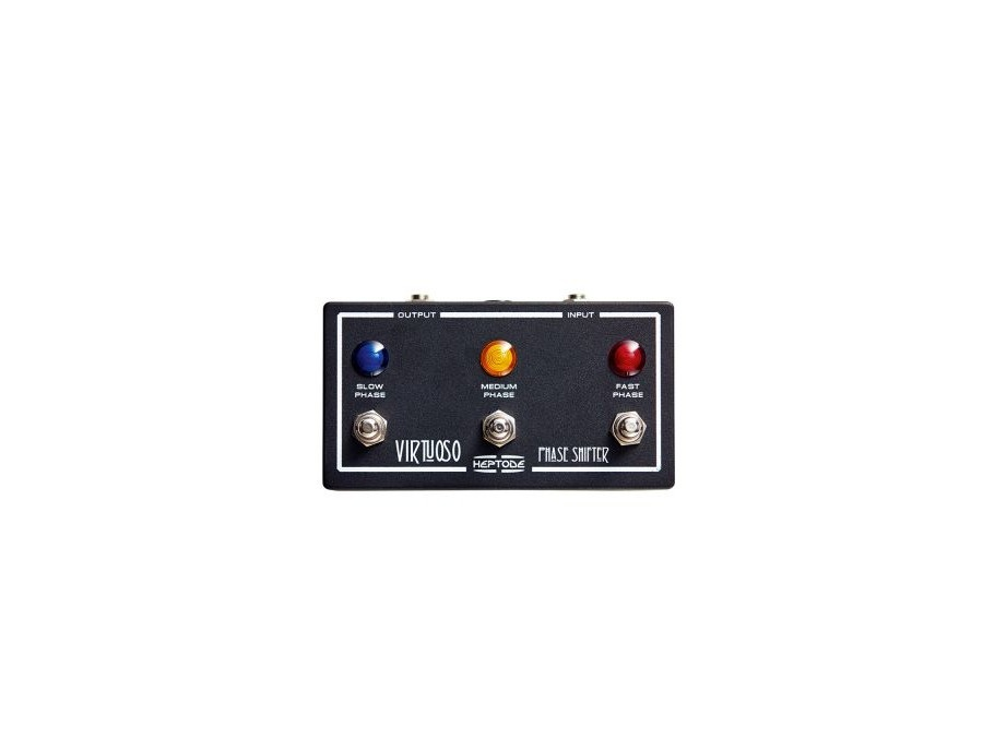 Heptode Virtuoso Phase Shifter Pedal