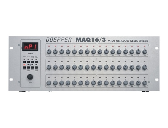 Doepfer MAQ 16/3 MIDI Analogue Sequencer