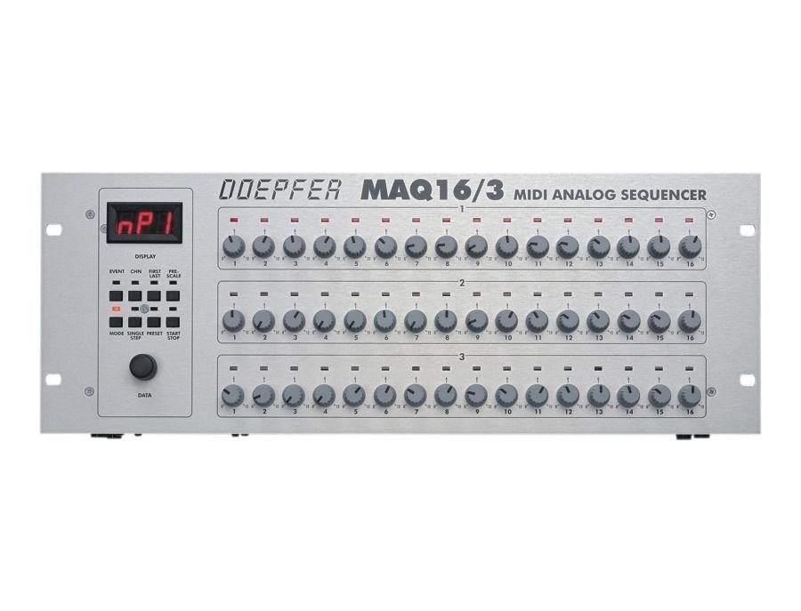 Doepfer MAQ 16/3 MIDI Analogue Sequencer