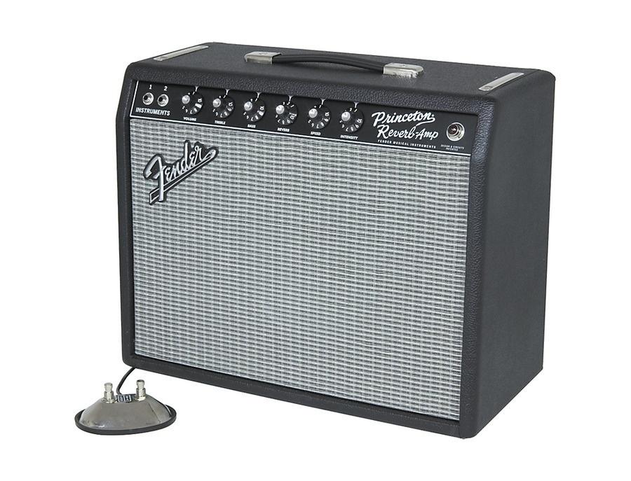 Fender 65 princeton reverb 15w 1x10 tube guitar combo amp xl