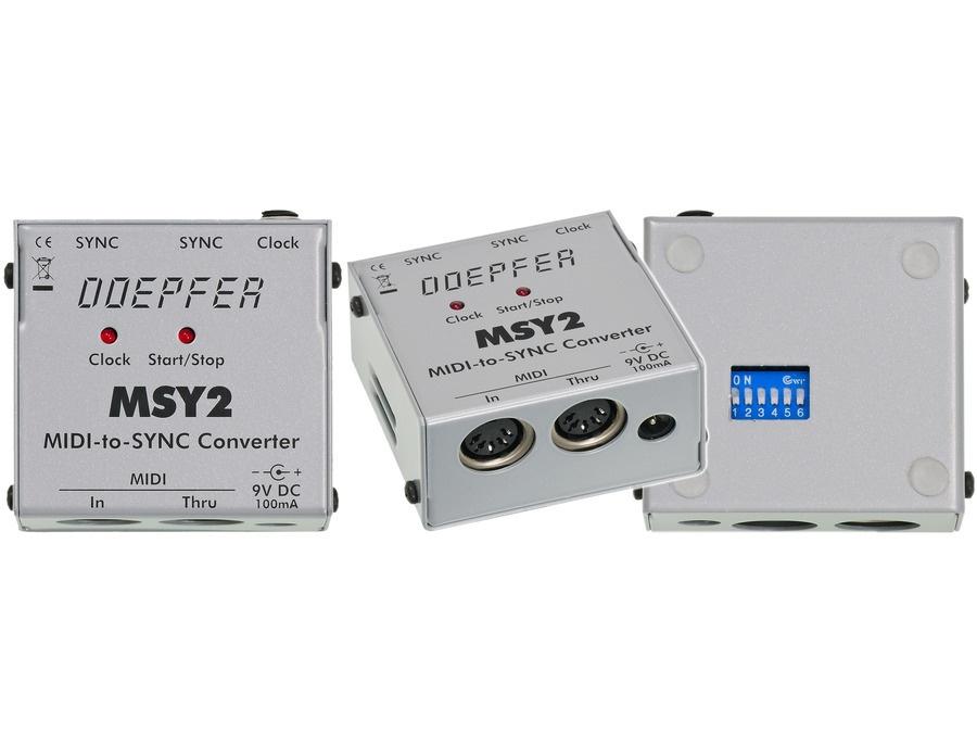 Doepfer MSY2 Midi to Sync Interface