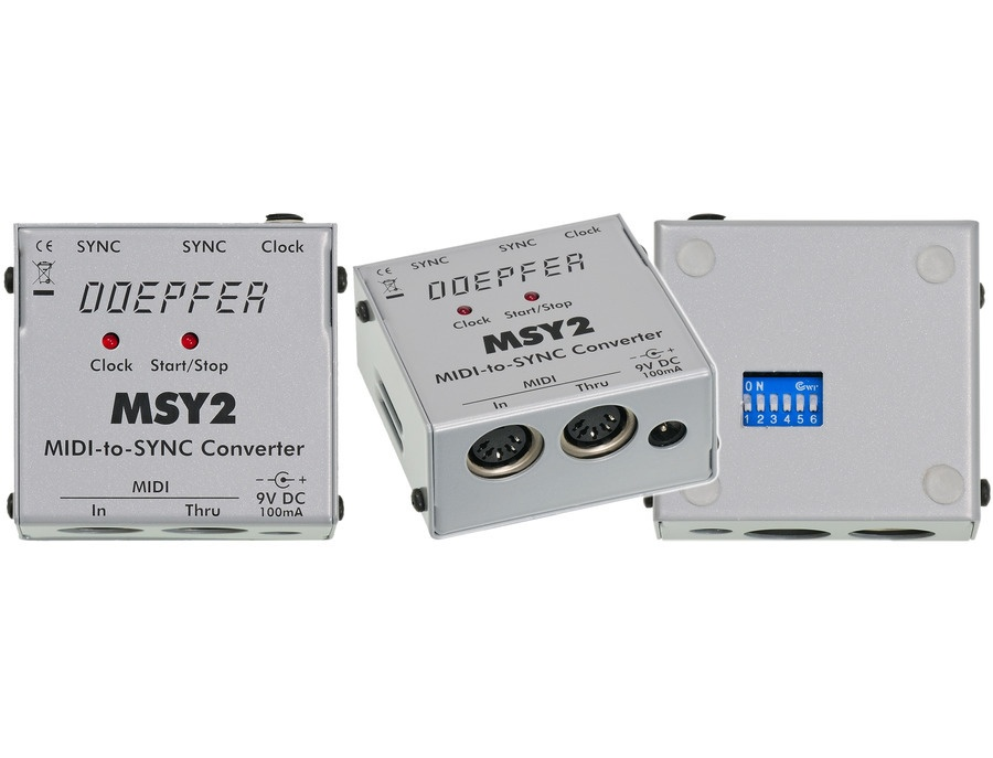 Doepfer MSY2 Midi to Sync Interface