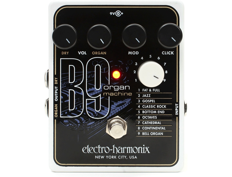 electro harmonix b9 organ machine reviews prices equipboard. Black Bedroom Furniture Sets. Home Design Ideas