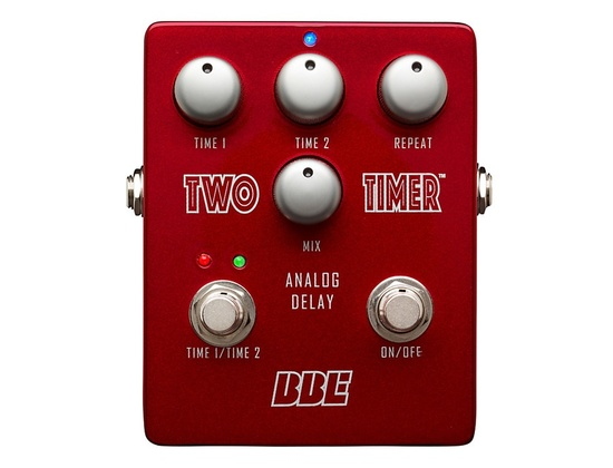 BBE Two Timer Analog Delay Guitar Effects Pedal