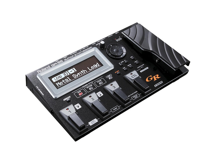Roland gr 55 guitar synthesizer multi effects pedal xl