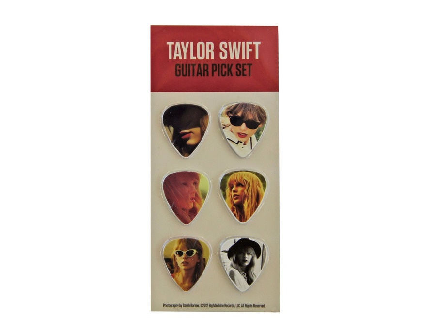 "Taylor Swift ""Red Tour"" Guitar Picks"