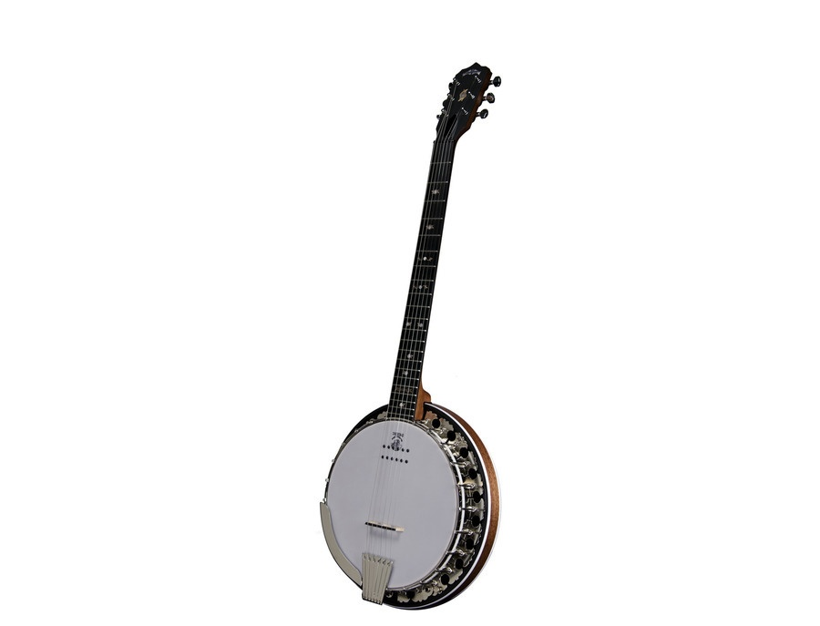 Deering Boston 6-String Acoustic/Electric Banjo