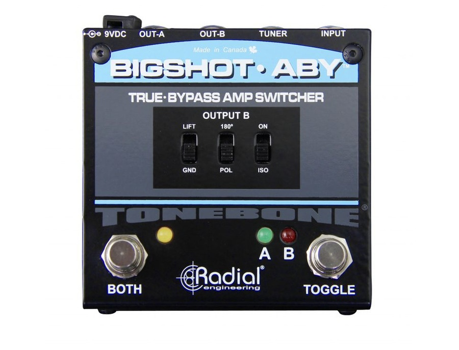 Radial Engineering BigShot™ ABY True Bypass Switcher
