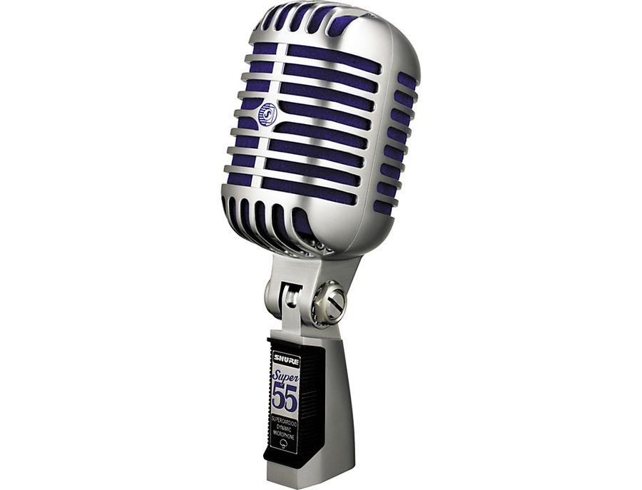 Shure Super 55 Dynamic Microphone