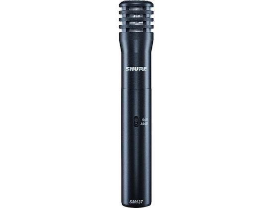 Shure SM137 Condenser Instrument Microphone