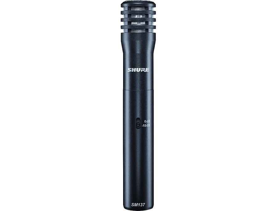 Shure sm137 condenser instrument microphone xl
