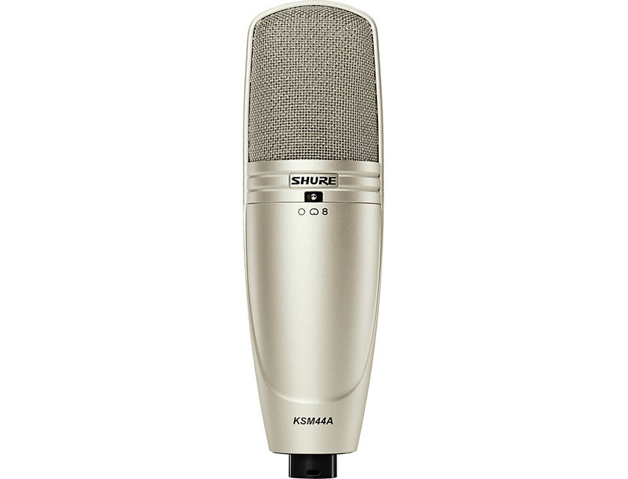 Shure ksm44a multipattern condenser mic crystal xl