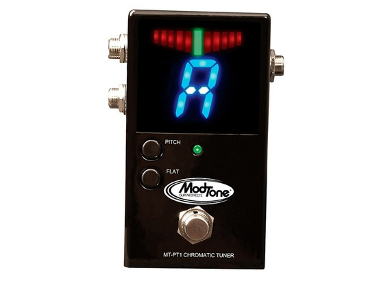 Modtone MT-PT1 Professional Chromatic Tuner Pedal Black