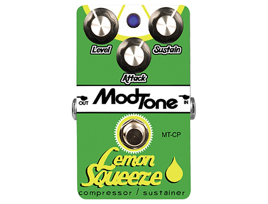 Modtone Lemon Squeeze Compressor Guitar Effects Pedal