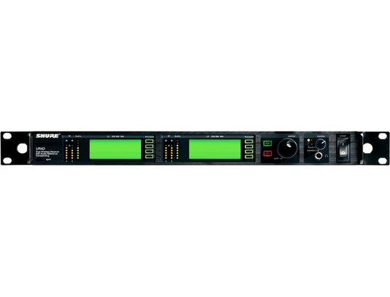 SHURE UR4D UHF-R Wireless Dual Channel Microphone System