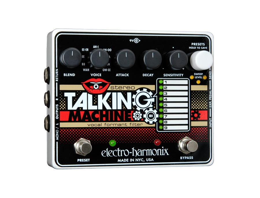 Electro harmonix stereo talking machine vocal formant filter xl