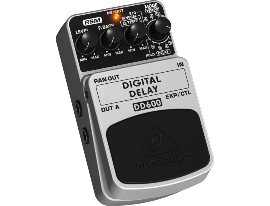 Behringer DD600 Digital Delay Pedal