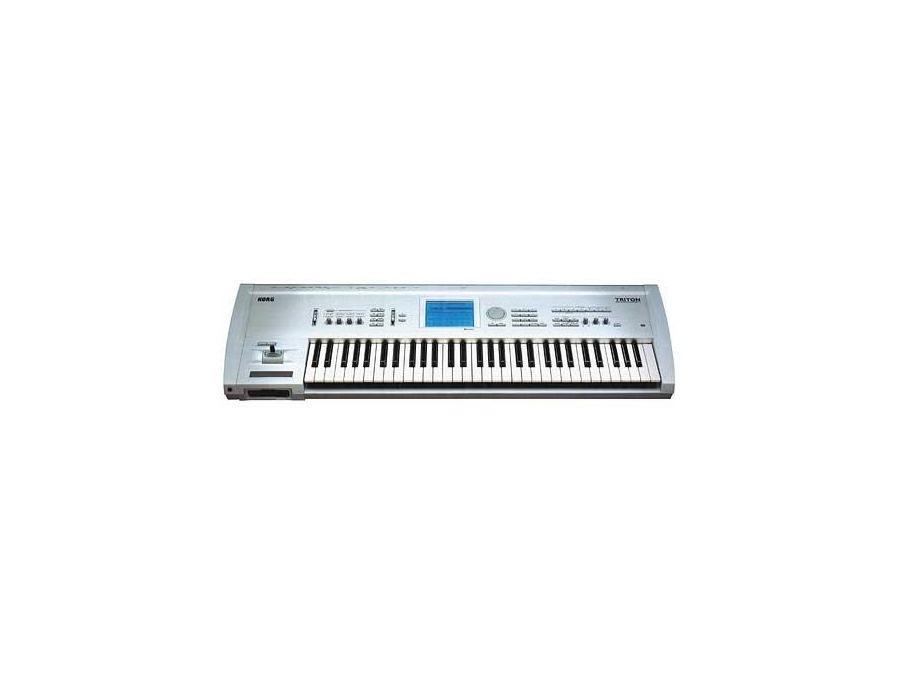 Korg triton 61 key music workstation xl