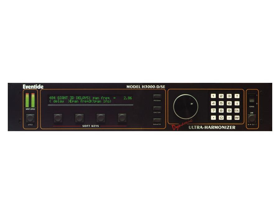 Eventide h3000 d se ultra harmonizer xl