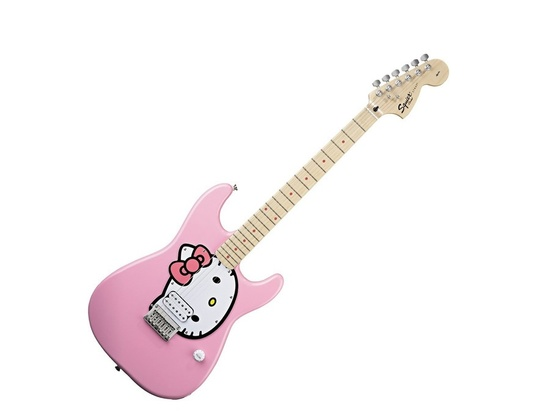 Squier Hello Kitty Stratocaster Pink