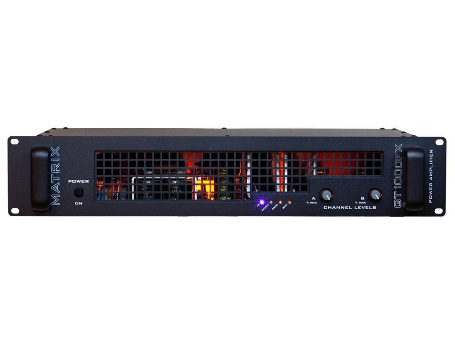 Matrix GT1000FX-2U Power Amplifier