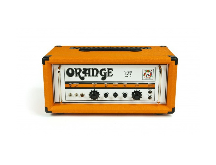 Orange amplifiers ad200b 200w tube bass amp head xl